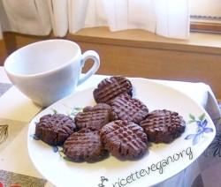 Biscotti vegan al Cioccolato 1