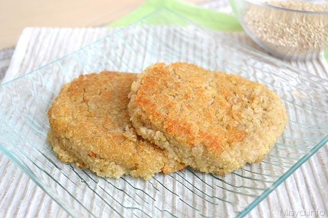 Hamburger di quinoa 14
