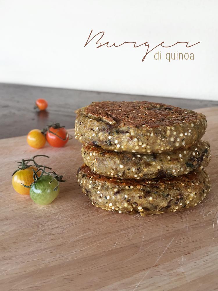 Burger di quinoa 1