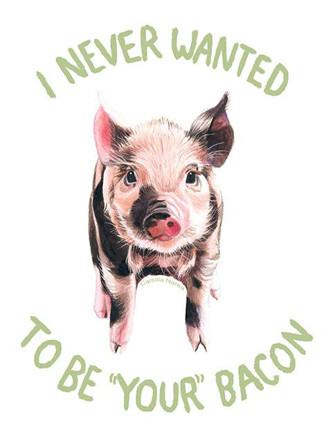 camillanarea: Pigs never have a choice. You do. (Artwork:... 10