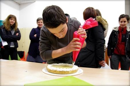 30.01.2015 Corso di Pasticceria Vegana Tassullo prima serata 1