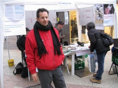 TRENTO - 12.03.2011 - TAVOLO INFORMATIVO SULLA VIVISEZIONE 65
