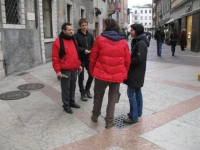 TRENTO - 12.03.2011 - TAVOLO INFORMATIVO SULLA VIVISEZIONE 80