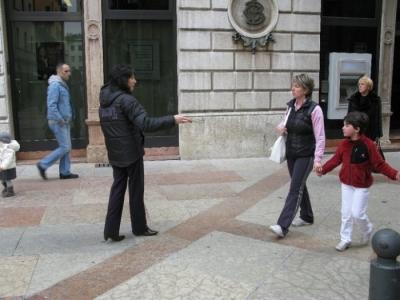 TRENTO - 12.03.2011 - TAVOLO INFORMATIVO SULLA VIVISEZIONE 85