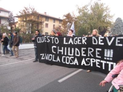 19.11.11- MANIFESTAZIONE CONTRO IL LAGER 93