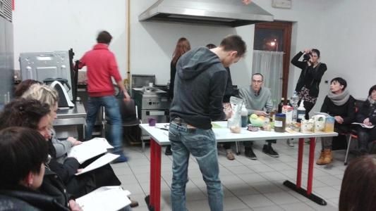 06.02.2015 - Corso di Pasticceria Vegana Tassullo seconda serata 6