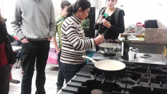 06.02.2015 - Corso di Pasticceria Vegana Tassullo seconda serata 14