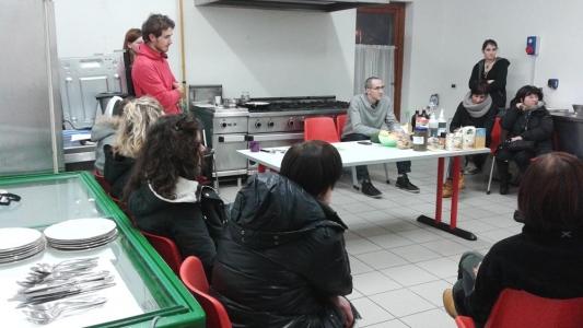 06.02.2015 - Corso di Pasticceria Vegana Tassullo seconda serata 2