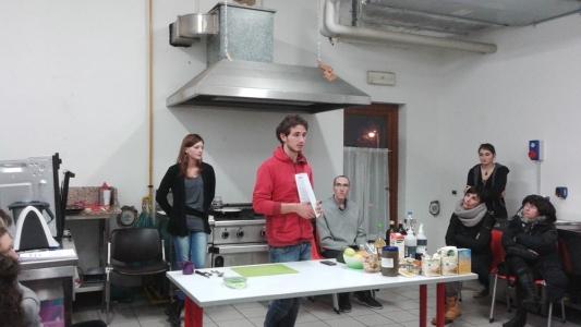 06.02.2015 - Corso di Pasticceria Vegana Tassullo seconda serata 4