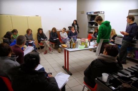 13.02.2015 - Corso di Pasticceria Vegana Tassullo terza serata 13