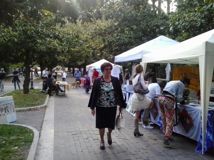 01.06.2014 TAVOLO INFORMATIVO - ARCO TN ALLA FESTA VEG DEGLI ANIMALI 99