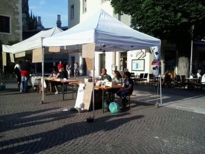 01.06.2014 TAVOLO INFORMATIVO - ARCO TN ALLA FESTA VEG DEGLI ANIMALI 16