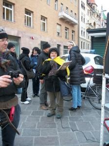 Bolzano 04.02.2012 manifestazione contro lo sfruttamento degli animali 124