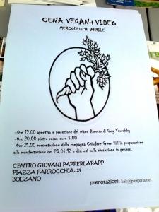 14.04.2012 - BOLZANO - TAVOLO INFORMATIVO CONTRO LA CACCIA E SULL'ALIMENTAZIONE VEGANA 84