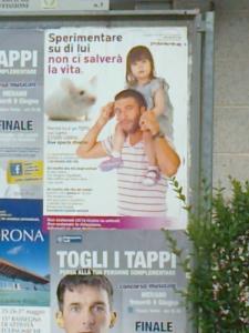 25.05.2012 - CENA VEGAN E CAMPAGNA CONTRO LA VIVISEZIONE 2