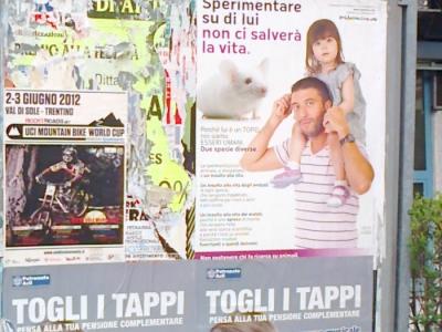 25.05.2012 - CENA VEGAN E CAMPAGNA CONTRO LA VIVISEZIONE 5