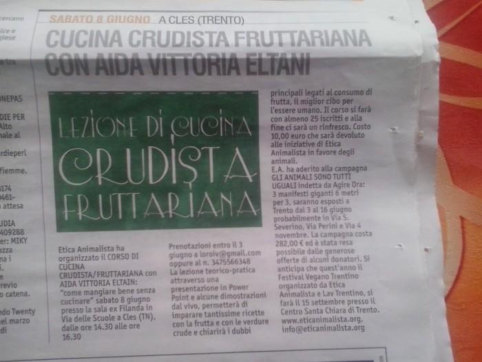 CLES (TN) 08.06.2013 - CORSO DI CUCINA CRUDISTA CON AIDA VITTORIA ELTAIN 25