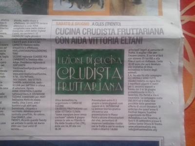 CLES (TN) 08.06.2013 - CORSO DI CUCINA CRUDISTA CON AIDA VITTORIA ELTAIN 6
