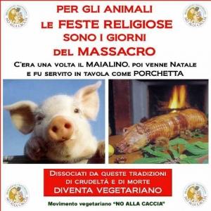 03 dicembre 2011 Trento fiaccolata per denunciare lo sterminio degli animali nel periodo natalizio (e non solo!) 51