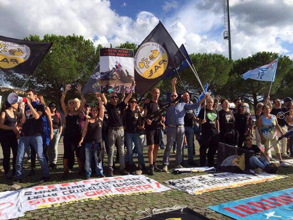 Manifestazione contro il Palio di Siena - 16.08.2015 67
