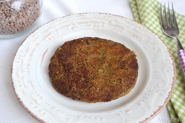 Hamburger di lenticchie 4
