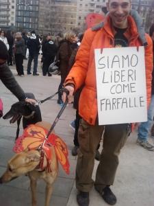MANIFESTAZIONE CONTRO LA VIVISEZIONE - MILANO 5 marzo 2011 74