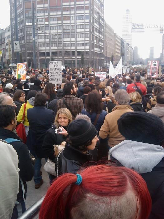 MANIFESTAZIONE CONTRO LA VIVISEZIONE - MILANO 5 marzo 2011 181
