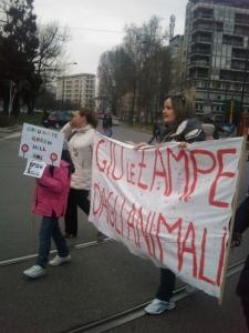MANIFESTAZIONE CONTRO LA VIVISEZIONE - MILANO 5 marzo 2011 92