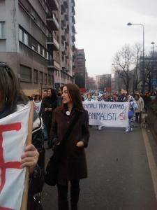 MANIFESTAZIONE CONTRO LA VIVISEZIONE - MILANO 5 marzo 2011 95