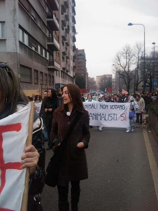 MANIFESTAZIONE CONTRO LA VIVISEZIONE - MILANO 5 marzo 2011 199
