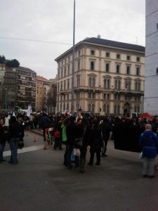MANIFESTAZIONE CONTRO LA VIVISEZIONE - MILANO 5 marzo 2011 98