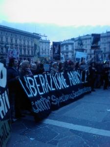 MANIFESTAZIONE CONTRO LA VIVISEZIONE - MILANO 5 marzo 2011 1