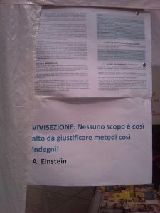 TRENTO - 12.03.2011 - TAVOLO INFORMATIVO SULLA VIVISEZIONE 89