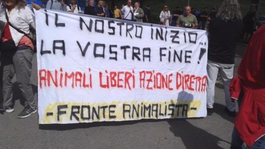 Manifestazione contro il Palio di Siena - 16.08.2015 1