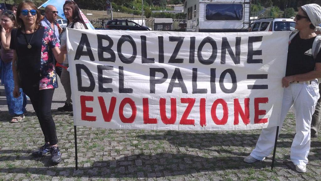 Manifestazione contro il Palio di Siena - 16.08.2015 49