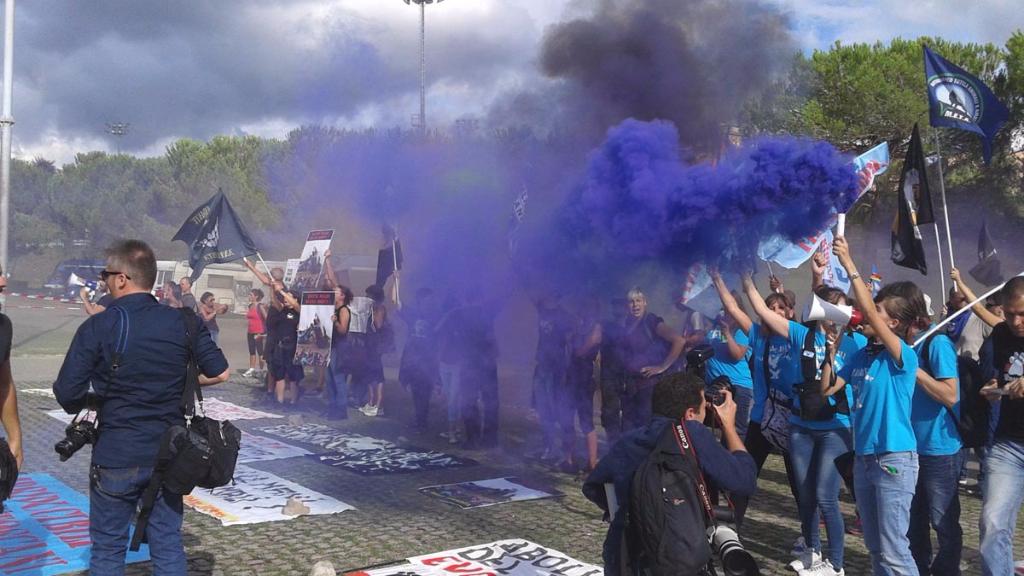 Manifestazione contro il Palio di Siena - 16.08.2015 56