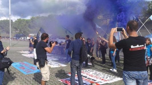 Manifestazione contro il Palio di Siena - 16.08.2015 16