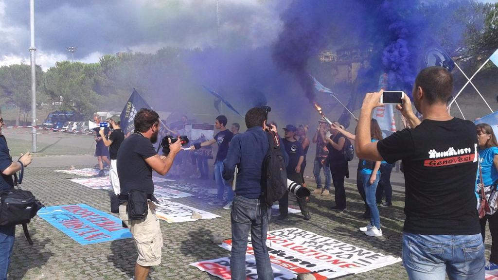 Manifestazione contro il Palio di Siena - 16.08.2015 58