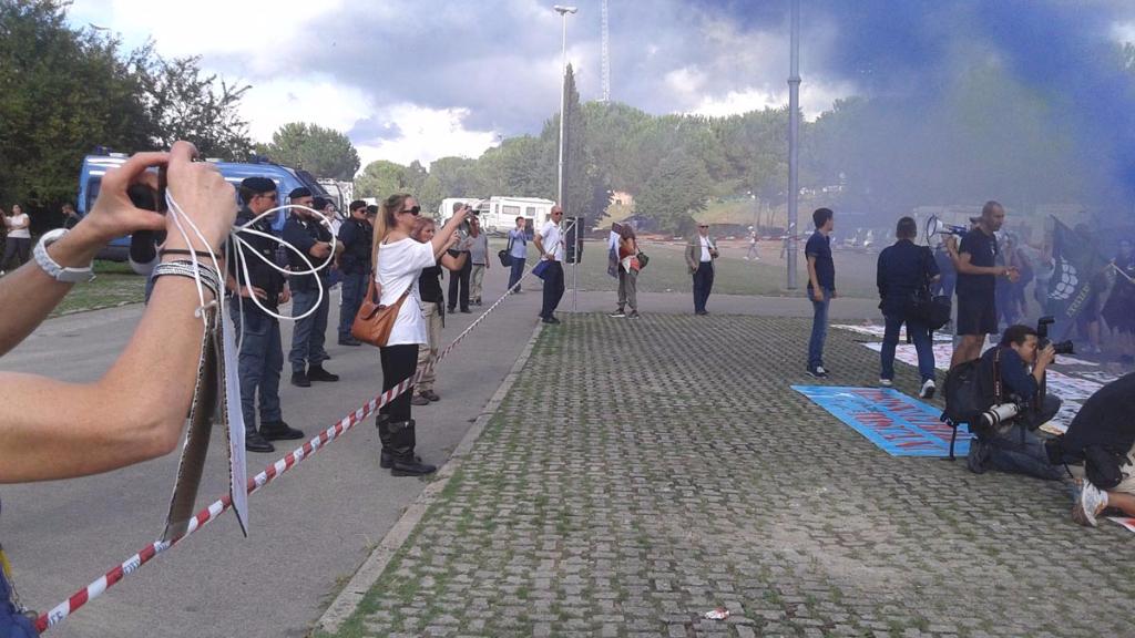 Manifestazione contro il Palio di Siena - 16.08.2015 61