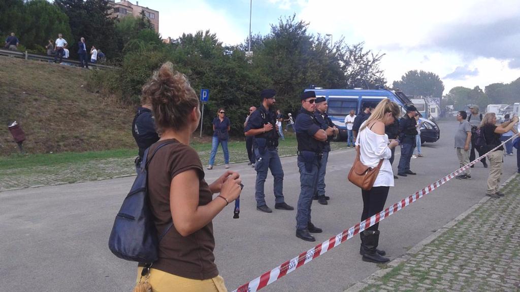 Manifestazione contro il Palio di Siena - 16.08.2015 63