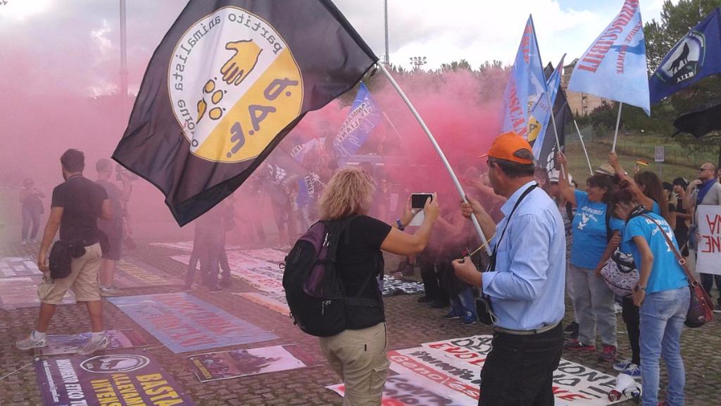 Manifestazione contro il Palio di Siena - 16.08.2015 64