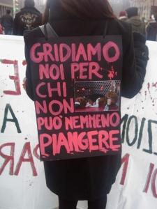 MANIFESTAZIONE CONTRO LA VIVISEZIONE - MILANO 5 marzo 2011 6