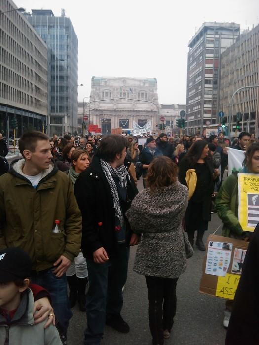 MANIFESTAZIONE CONTRO LA VIVISEZIONE - MILANO 5 marzo 2011 113