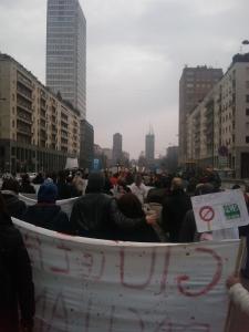 MANIFESTAZIONE CONTRO LA VIVISEZIONE - MILANO 5 marzo 2011 12