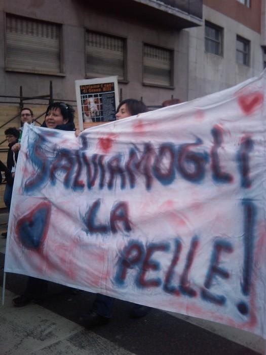 MANIFESTAZIONE CONTRO LA VIVISEZIONE - MILANO 5 marzo 2011 131