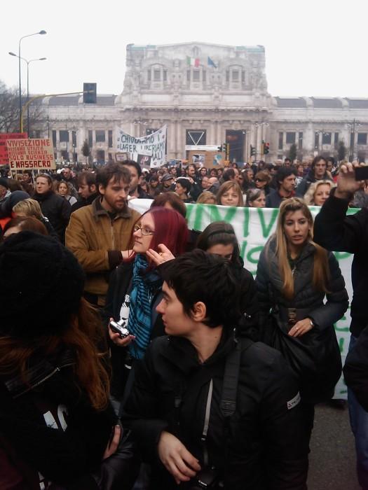 MANIFESTAZIONE CONTRO LA VIVISEZIONE - MILANO 5 marzo 2011 142