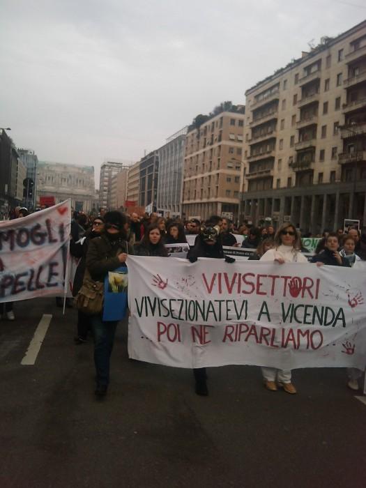 MANIFESTAZIONE CONTRO LA VIVISEZIONE - MILANO 5 marzo 2011 150