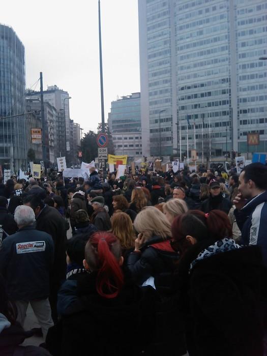 MANIFESTAZIONE CONTRO LA VIVISEZIONE - MILANO 5 marzo 2011 153