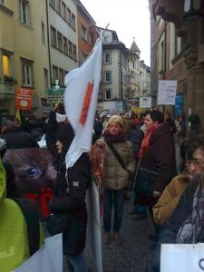 Bolzano 04.02.2012 manifestazione contro lo sfruttamento degli animali 4