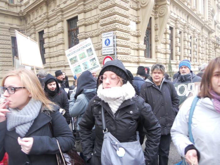 Bolzano 04.02.2012 manifestazione contro lo sfruttamento degli animali 194